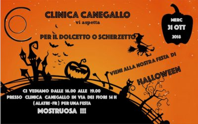 HALLOWEEN PARTY CON CLINICA CANEGALLO