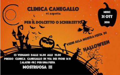 HALLOWEEN PARTY CON CLINICA CANEGALLO
